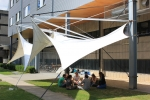 Workshop Lightweight Structures 2013-14: A prototype of a lightweight canopy