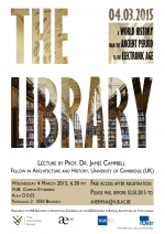 Uitnodiging lezing van James Campbell - The Library. A world history