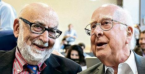 Englert and Higgs, laureates Nobel Prize 2013 in Physics