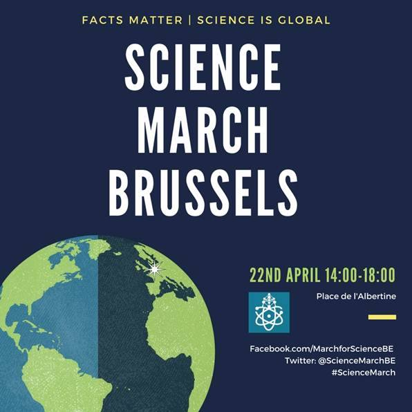 Science March Brussels