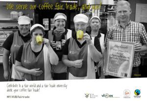 Fair Trade Campagne Resto Team VUB