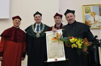 Medical University of Gdansk honorary doctorate for VUB professor Vander Heyden