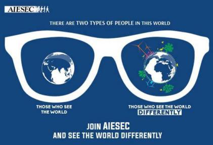 Join AIESEC and see the world differently