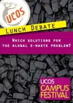 Lunch Debate UCOS Campus VUB Solution E-waste problem